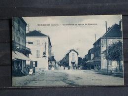 Z30 - 52 - Renaison - Carrefour Et Route De Roanne - Edition Plasse - 1939 - Autres Communes