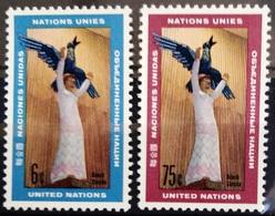 NATIONS-UNIS  NEW YORK                   N° 177/178                      NEUF** - Ungebraucht