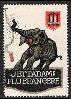1920. DANMARK. JETTADAMs FLUEFANGERE. ELEFANT. () - JF361071 - Erinnophilie