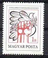 """HONGRIE. N°2623 De 1978. Revue """"Paix Et Socialisme"""". - Hongrie"""