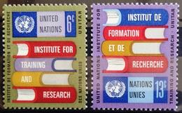 NATIONS-UNIS  NEW YORK                   N° 186/187                      NEUF** - Ungebraucht