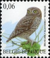 Belgium 2007 MiNr. 3720  Belgien Birds Buzin  Little Owl 1v  MNH** 0.40 € - Ongebruikt