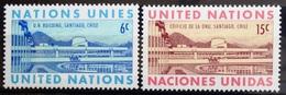 NATIONS-UNIS  NEW YORK                   N° 188/189                      NEUF** - Ungebraucht