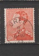 COB 435 Oblitération Centrale BREE - 1936-1951 Poortman