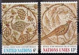 NATIONS-UNIS  NEW YORK                   N° 195/196                      NEUF** - Ungebraucht