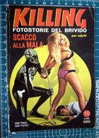 IMMAGINE  TAGLIATA DA FUMETTO ORIGINALE KILLING - After 1965
