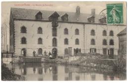 CPA 10 - SAINT HILAIRE SOUS ROMILLY (Aube) - Le Moulin De Favrolles (petite Animation) - France