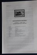 EUROPA - CEPT 1988; 13.5.1988; Legende; Erläuterungsblatt - Europa-CEPT