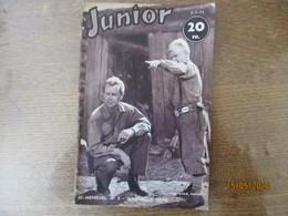 JUNIOR N° 3  5-3-54 BI-MENSUEL - Livres, BD, Revues