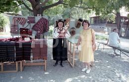 80s COSTUME BULGARIE BULGARIA 35mm ORIGINAL NEGATIVE Not PHOTO No FOTO - Fotografia