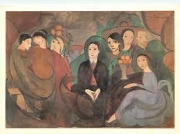 Art - Peinture - Marie Laurencin - Apollinaire Et Ses Amis, 1909 - CPM - Voir Scans Recto-Verso - Malerei & Gemälde