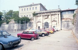 80s SEAT RONDA MINI 1000 CAR ZARAGOZA COCHES ESPANA SPAIN 35mm ORIGINAL NEGATIVE Not PHOTO No FOTO - Fotografia