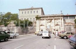 80s SIMCA 1500 CAR ZARAGOZA COCHES ESPANA SPAIN 35mm ORIGINAL NEGATIVE Not PHOTO No FOTO - Fotografia