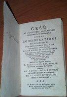 LIBRETTO PREGHIERE PER SACERDOTI ANNO 1775 - Books, Magazines, Comics
