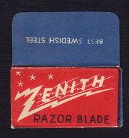 ZENITH Razor Blade Old Vintage WRAPPER (see Sales Conditions) - Razor Blades