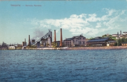 AK - TRIESTE - Eisenhütte Von Servola (Krainische Industrie Gesellschaft) 1914 - Trieste