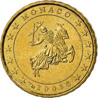 Monaco, 10 Euro Cent, Prince Rainier III, 2003, SUP+, Laiton, KM:170 - Monaco