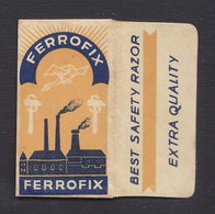 FERROFIX Razor Blade Old Vintage WRAPPER (see Sales Conditions) - Razor Blades