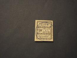 REUNION - TASSE 1889 CIFRA 30 C. - TIMBRATO/USED - Réunion (1852-1975)