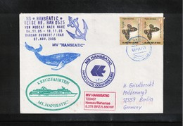 Germany / Deutschland 2005 MS Hanseatic In Iran Interesting Ship Letter - Covers & Documents