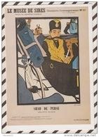 3AD1002 2E SERIE JOURNAUX ANCIENS LE SHAH DE PERSE A PARIS ROUBILLE LE MUSEE DE SIRES  2 SCANS - Illustrateurs & Photographes