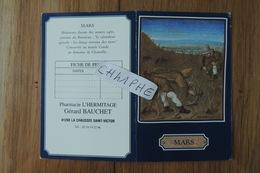 """CALENDRIER DE POCHE DE 2001 - PHARMACIE """"L HERMITAGE"""" LA CHAUSSE SAINT VICTOR LOIR ET CHER - TAILLE DE LA VIGNE EN MARS - Tamaño Pequeño : 2001-..."""