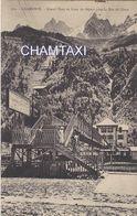 74 CHAMONIX MONT BLANC CHEMIN DE FER A CREMAILLERE DU GLACIER DE LA MER DE GLACE PASSERELLE GARE DE DEPART - Chamonix-Mont-Blanc