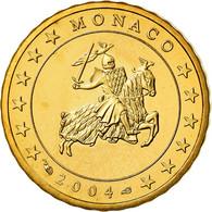 Monaco, 10 Euro Cent, Prince Rainier III, 2004, Proof, FDC, Laiton, KM:170 - Monaco