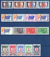 Unesco 1960/75 Neufs** N°22,24/6,29,31/2,34,36/41,43,45/6    TB   4,50 € (cote 24,40 €  17 Valeurs) - Neufs