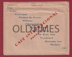 PORTUGAL - AÇORES - FAIAL - HORTA - CAFÉ INTERNACIONAL - 1940 ENVELOPE - Portugal