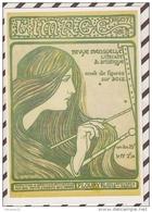3AD1018 4E SERIE BONNES FEUILLES COUVERTURE DU 8E NUMERO BERTHON 1897 L'IMAGE  2 SCANS - Berthon