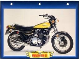 KAWASAKI 900 Z1 1972  Technique Illustrée Documentée Motos De Légende Fiche  Moto - Sports