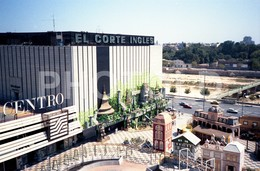 80s EL CORTE INGLES VALENCIA ESPANA SPAIN  AMATEUR 35mm ORIGINAL NEGATIVE Not PHOTO No FOTO - Fotografia