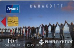 Finland Phonecard AVANT AVA-11b 12/93  ( 008593 ) - Finlande