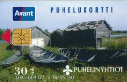 Finland Phonecard AVANT AVA-27a (025620 ) 06/95 - Finlande