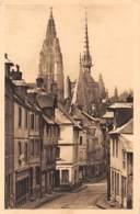 76 - CAUDEBEC-en-CAUX - La Grande-Rue Et L'Eglise Notre Dame (1426-1515) - Caudebec-en-Caux
