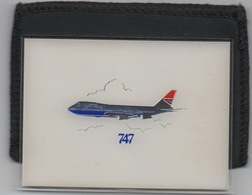 Miroir De Poche : British Airways Boeing 747 (92mm X 66mm) - Otras Colecciones