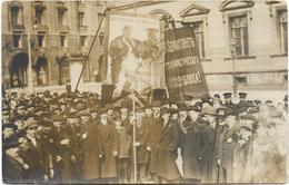 RUSSIE - Rare Carte-photo - Révolution Russe De 1917. Belle Animation, BE. - Evènements