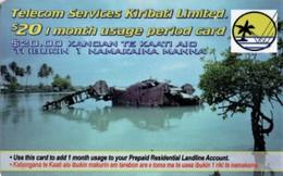 *KIRIBATI* - Scheda Usata - Kiribati