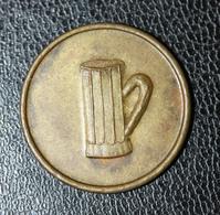"""Jeton De Nécessité Belge """"Grand Café De L'Union (Athus - Belgique) - Monetary / Of Necessity"""
