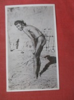 Non Postcard Back--- Female  With Tail   Ref 4066 - Nus Adultes (< 1960)