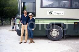 80s VOLVO AUTOCARRO VIMECA BUS ESPANA SPAIN AMATEUR 35mm ORIGINAL NEGATIVE Not PHOTO No FOTO - Fotografia