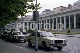 80s MAZDA LUCE 2000 REGARD TAXI GERMANY  AMATEUR 35mm ORIGINAL NEGATIVE Not PHOTO No FOTO - Fotografia