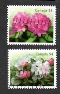 Sc. # 2318a&b Flowers Rhododendron Booklet Pair Used  2009 K596 - 1952-.... Règne D'Elizabeth II