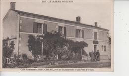 79 LE MARAIS POITEVIN  -  Café-Restaurant  BIROCHEAU, Près De La Passerelle Et Du Pont D'Irleau  - - Non Classés
