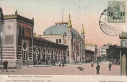 Constantinople - La Gare à Stamboul - Train Station - Turquie