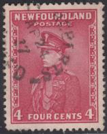 Newfoundland 1932-37 Used Sc #189 Bay Roberts, Newf'd AP 24 37 Split Circle - 1908-1947