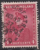 Newfoundland 1932-37 Used Sc #189 Bay Roberts, Newf'd Feb 15 37 Split Circle - 1908-1947