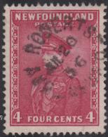Newfoundland 1932-37 Used Sc #189 Bay Roberts, Newf'd Jul 20 36 Split Circle - 1908-1947