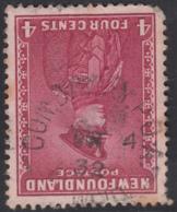 Newfoundland 1932-37 Used Sc #189 CON. BAY. RY. P.O.-A. ? 2 34 Ry27 - 1908-1947